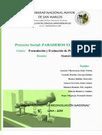 Proyecto PARADEROS ECOLÓGICOS