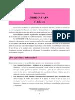 Instructivo Normas Apa 2019 Revisado Ucp