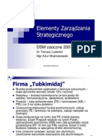 DSMzaoczne - Model Strategii
