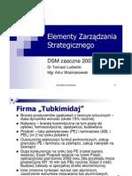 DSMzaoczne - Model Strategii