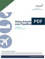 21.Using AmosConnect Over FleetBroadband