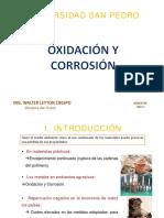 Oxidacion y Corrosion