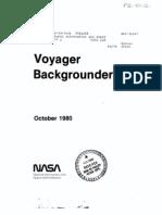 Voyager Backgrounder 1980