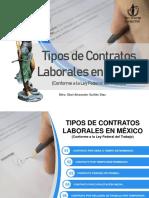 Tipo de Contratos Laborales (Conforme a La Ley Federal Del Trabajo)