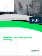 Effective Crisis Management Planning WorldAware