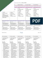 glenda palomino - planboard week - nov 3 2019