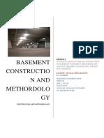 Basement Report