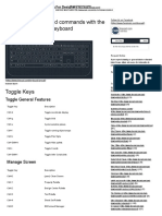 AutoCAD Hotkeys and Commands
