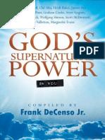 O Poder Sobrenatural de Deus
