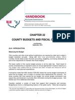 CCAO -County Budgets- 49 Pgs