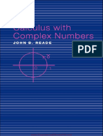 CaIcuIus With CompIex Numbers by John B.reade