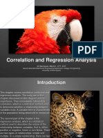 Correlation and Regression Analysis PPT