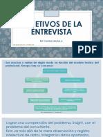 Ética y objetivos en la entrevista clínica