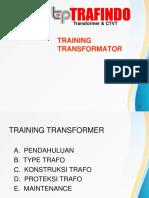Training Trafo