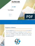 Programas Univa Online LT Teología