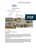 Informe Técnico - Descolmatacion