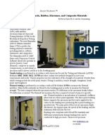 060313mp05 - Mechanical Testing of Plastic Rubber Elastomer and Composite Materials