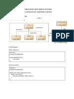 Laporan Post Test Design Pattern