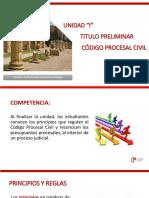 Titulo Preliminar derecho procesal civil