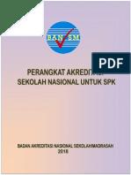 Perangkat  Akreditasi Sekolah Nasional Untuk SPK