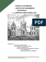 Plan Operativo Institucional Hg 2016