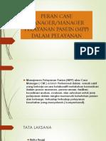 peran case manager