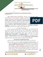 Jurisdicción Voluntaria Adopción Plena (Mayra Rivas)