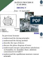 4. Drying