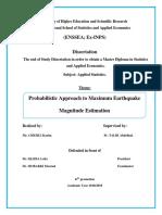 Probabilistic Approach to Earthquake Maximum Magnitude Estimation (Enregistré automatiquement).docx