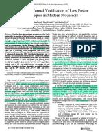07116288 Formal Verification of Low Power  Techniques
