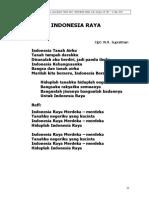 4. Indonesia Raya