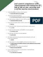07. (Sb Da) Monitor and Control Compliance With Legislative