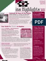 Hopkins Highlights - December 2010