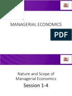 Micro economics Introduction