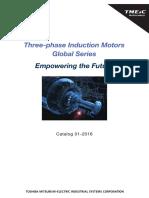 3 Ph IND MOTORS TM21G Catalog 01 2016 Lores