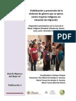 Visibi-prevencion Violencia Taller Indigenas