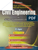Civil Engineering R AGOR Objective Type