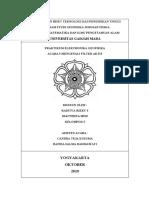 Laporan Praktikum Elektronika Geofisika Sistem Aktif