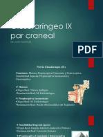 Glosofaríngeo IX Par Craneal