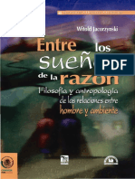 Jacorzymski, Witold - Entre los dueños de la razón. Filosofía y antropología de las relaciones entre hombre y ambiente.pdf