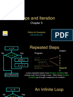Python Iteration and loops