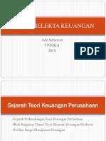 12 teori keuangan