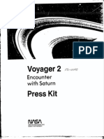 Voyager 2 Encounter With Saturn Press Kit