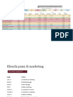 Programma Di Progetti Di Marketing1