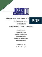 The Laroche Candy Company Case Study
