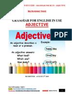 Grammar for IELTS - Adjective Full