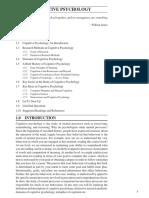 MPC 001 Cognitive Psychology