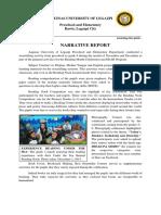 Narrative Report 2017