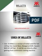Uses of Billets