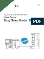 CV-X Series Easy Setup Guide